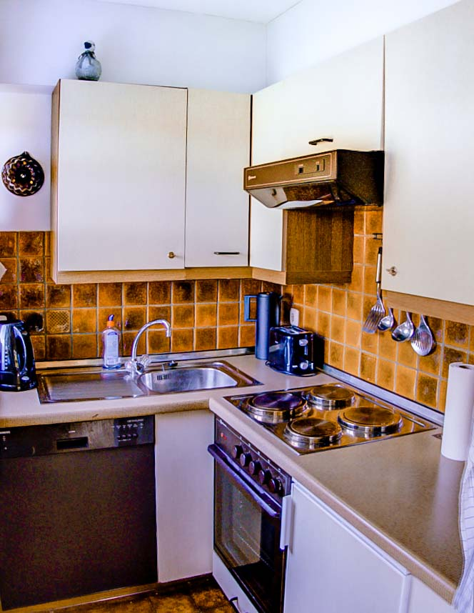 Haus mariandl fewo 17 küche